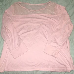 Pink Sleep Shirt by Cacique
